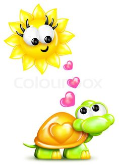 Heart shape made with man and woman hands at the sun Clipart Baby, Cute Cartoon Pictures, Cartoon Pics, Funny Pics, Hand Crafts For Kids, Turtle Images, Cartoon Turtle, Turtle Figurines, Emoticons
