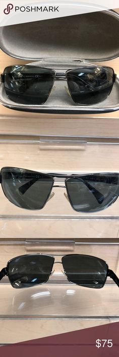 Giorgio Armani Men's Sunglasses Made in Italy 750/S VRWY2. Grey lenses no scratches or marks. Comes with case and cleaning cloth. Giorgio Armani Accessories Sunglasses