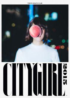 "sasakishun:  TOKYO HEALTH CLUB ""CITYGIRL 2015″ Design: SasakiShun Photography: GotoYohey CL : OMAKE CLUB ( http://www.omake-club.com/)"
