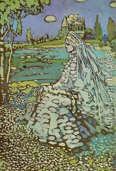 Wassily Kandinsky: Russian Belle and Landscape