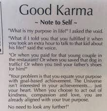 Good Karma Note To Self Google Search In 2020 Note To Self