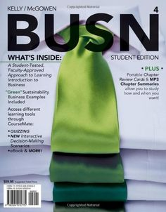 BUSN 4 ( Business CourseMate eBook Printed Access « Library User Group