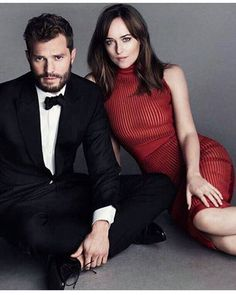 NEW photoshoots!!!!!!❤❤❤😍😍😍 Omg they are PERFECT!!!😍😍😍 #FiftyShadesDarker
