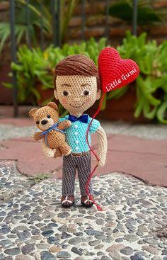 Caleb Und Sophia, Crochet Designs, Teddy Bear, Toys, Animals, Instagram, Amigurumi Doll, Grooms, Knitting And Crocheting