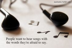 Music is Words We can't say.