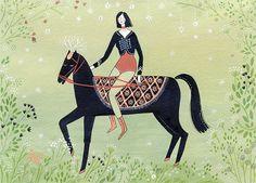 the rider (print) - ybryksenkova