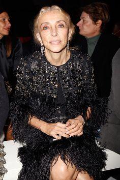Franca Sozzani: front row @ Givenchy S'S 2013
