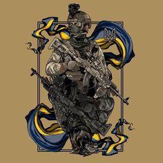 Airsoft, Ukraine Military, Military Tattoos, Army Wallpaper, Samurai Art, Peaky Blinders, Military Art, Death, Animation
