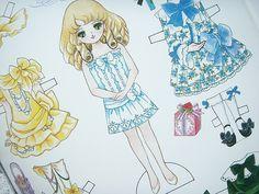Kawaii Paper Doll Girl Anime Cute Clothing Dress Retro Japan by Kawaii Japan, via Flickr