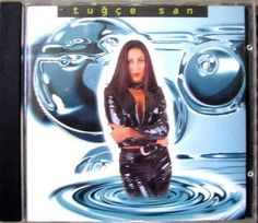 Tugce San Turkish pop star singer 1996 album by IrishBarnVintage