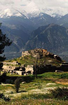 Menalaion. Sparta. Greece.