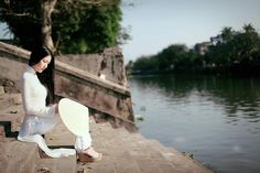 Ao dai - Hue Deluxe Group tours (4) | Flickr - Photo Sharing!
