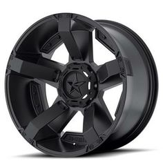 XD Wheels Part W/P81129067712N - XD811 Rockstar II, 20x9 with 6 on 135 and 6 on 5.5 Bolt Pattern - Matte Black - - 4 Wheel Parts