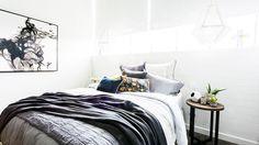 Darren & Dee: Guest bedroom gallery | The Block Glasshouse | 9jumpin