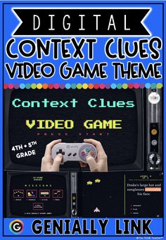 Students are going to LOVE this digital game for context clues practice! Students will complete 4 missions in which they solve a variety of questions that require them to use context clues. Each level increases in difficulty of vocabulary words used. Students collect 4 secret numbers at the end of each mission to unlock the final mission. Second Grade Math, Fourth Grade, Third Grade, Primary Resources, Teacher Resources, Google Classroom, Classroom Ideas, Teaching Tools, Teaching Ideas