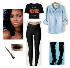 """""""Untitled #1156"""" by jblizz on Polyvore featuring Boohoo"""