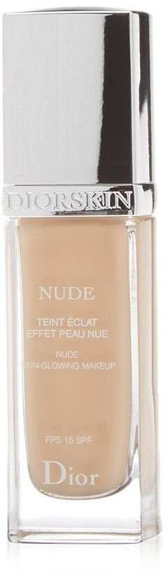 Christian Dior Nude Skin-Glowing Makeup SPF 15,  023 Peach, 1 Ounce ** Details can be found by clicking on the image.