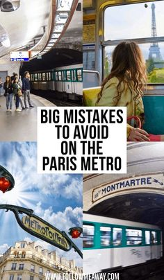 Avoid these common mistakes when traveling through Paris Metro stations! The Paris metro tips will help you have an easy and safe trip in France. Paris France Travel, Paris Travel Guide, Europe Travel Tips, London Travel, Travel Advice, Travel Destinations, Traveling Europe, Travel Vlog, Backpacking Europe