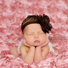 :) headband for newborn photos