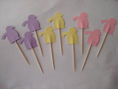 Cute Penguins Birthday Wedding Party Pastel Colorful by gundgangs, $3.99