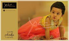 Kids Party Wear, Kids Frocks, Kids Outfits, Kids Fashion, Sari, Cute, Ethnic, Facebook, Dresses