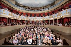 Drama Queens will love getting married on the stage at the unique Regency Theatre, the Theatre Royal in Bury St Edmunds - http://www.suffolkweddingsguide.co.uk/Bury-St-Edmunds/Theatre-Royal-Bury-St-Edmunds-1399.asp