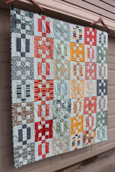 Moda Bake Shop Salt Air Crossings Quilt...cool pattern and pretty colors.
