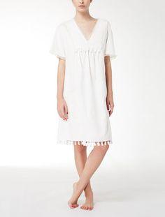 6a16b61133 Cotton Oxford dress Herbst Winter
