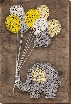 String Art Diy, Diy Wall Art, Diy Art, Wall Decor, String Crafts, 3d Zeichenstift, Stylo 3d, String Art Patterns, String Art Templates