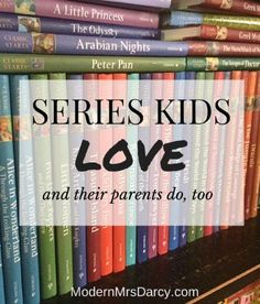 The books you need to create a home for happy readers. Falling in love with the first book in a series is a wonderful thing: you don't have to worry about what to read next, you can just sit back and enjoy the reading. Kids and adults alike love these 7 great series.