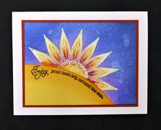 *IC599 Around the Sun by hobbydujour - Cards and Paper Crafts at Splitcoaststampers