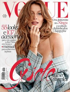 SEE GISELE'S NEW VOGUE BRAZIL SEXY COVER PHOTO