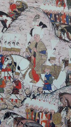 Sultan Suleyman, Southeast Asian Arts, Planets Wallpaper, Ottoman Empire, Persian, Illustration, Vintage World Maps, Miniatures, Fantasy