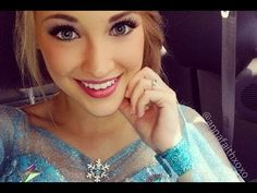 Anna Faith Carlson: The Real-Life Queen ELSA From FROZEN - YouTube