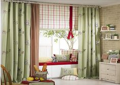 Curtains were frowned upon in modern households long
