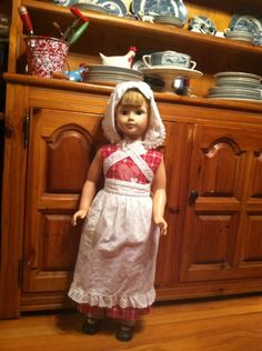 Full body view of c. rogers doll.