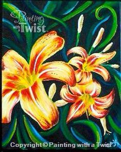 1208 Best Painting With A Twist Paintings Images Canvas Art