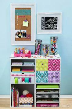 Craft organizing idea