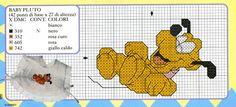 Schema punto croce Baby pluto2