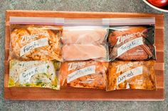Awesome Marinades for chicken-Greek, teriyaki, fajita, and more!