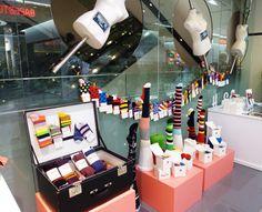 socks, merchandise window