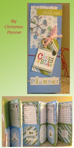#Christmas #planner #papercrafting