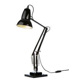 Anglepoise Original 1227 with table base in BLACK from Lights 4 Living