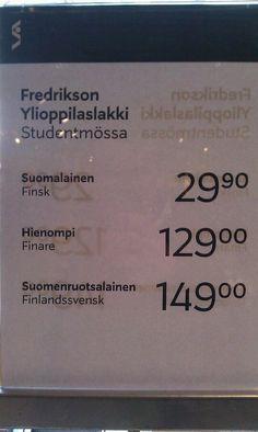 """Kim Rantala Twitterissä: """"Stockalla on mielenkiintoinen näkemys hinnoista. Suomenruotsalainen yo-lakki maksaa eniten, mutta millainen se on? http://t.co/Jzy2JGYp9H"""""""