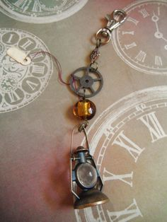 Check out this item in my Etsy shop https://www.etsy.com/listing/237790422/lantern-steampunk-keychain