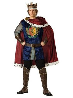 Royal King - Adult Costume