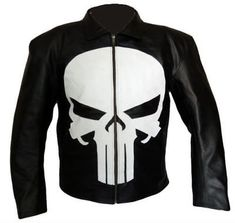 MEN'S STYLISH MICHAEL JACKSON BLUE LEATHER JACKET WITH BLACK STRIPES, MEN LEATHE - Outerwear