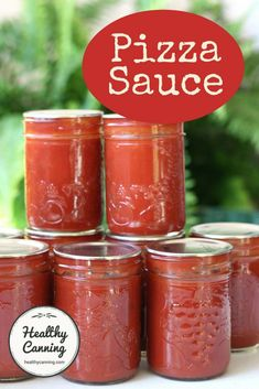 Homemade Pizza Sauce Recipe Fresh Tomatoes Canning - Image Of Food Recipe Pizza Sauce Recipe Fresh Tomatoes, Canning Pizza Sauce, Tomato Pizza Sauce, Pizza Recipes, Sauce Recipes, Healthy Homemade Pizza, Canning Food Preservation, Preserving Food, Chicken Wing Sauces
