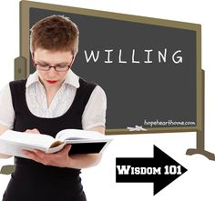 """Day 13 of Proverbs """"WILLING"""" #write31days"""
