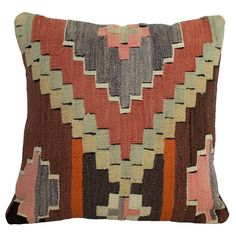 Flower Kilim Pillow II